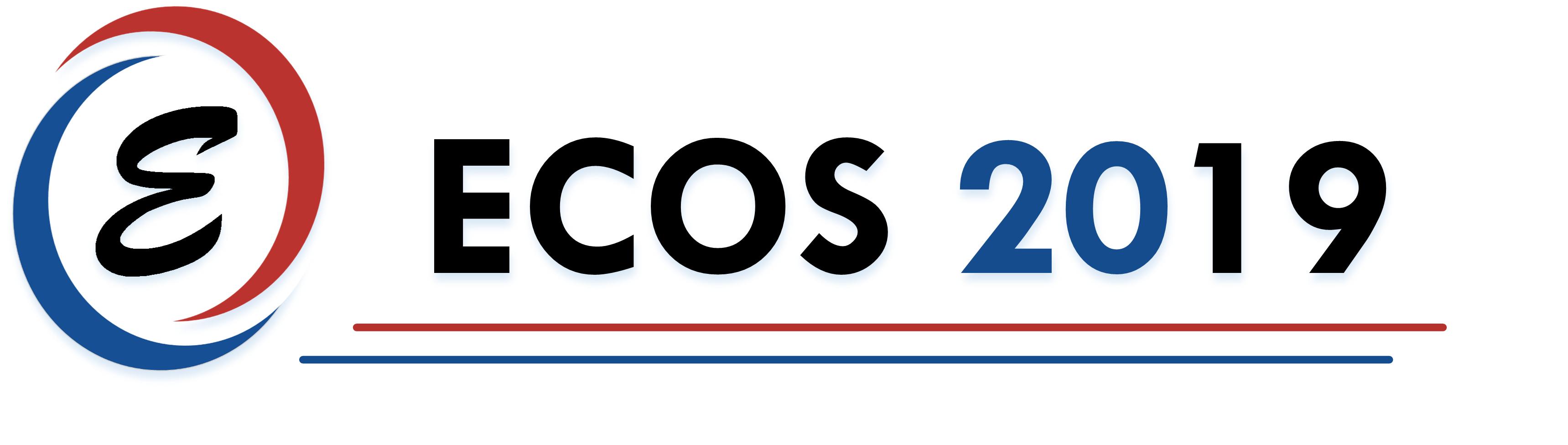 ECOS 2019 logo